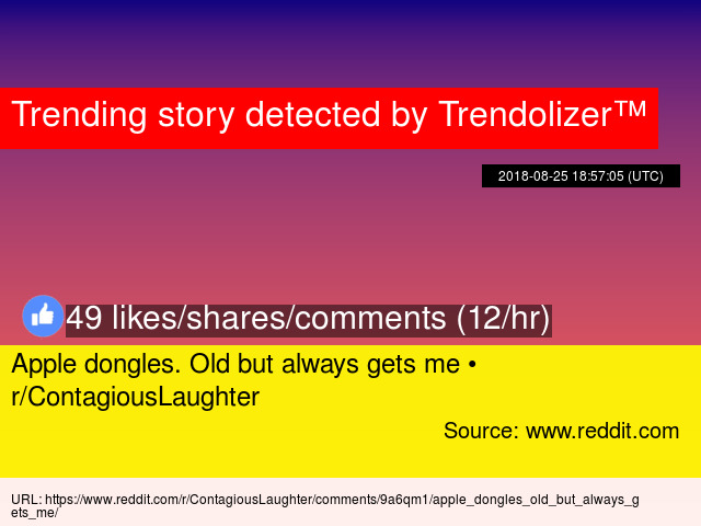 Apple dongles  Old but always gets me • r/ContagiousLaughter