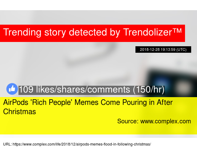 93e6b34dea4 AirPods 'Rich People' Memes Come Pouring in After Christmas