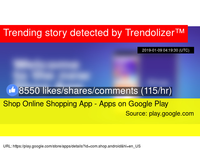 3b1106f6d Shop Online Shopping App - Apps on Google Play - Stats