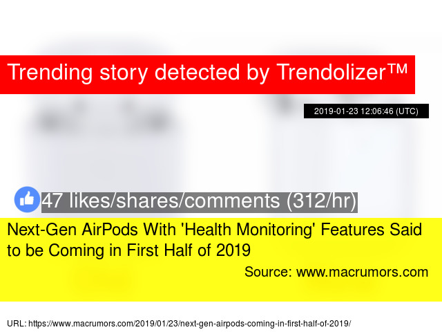 Next-Gen AirPods With 'Health Monitoring' Features Said to