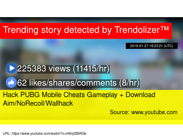 Hack PUBG Mobile Cheats Gameplay + Download Aim/NoRecoil/Wallhack
