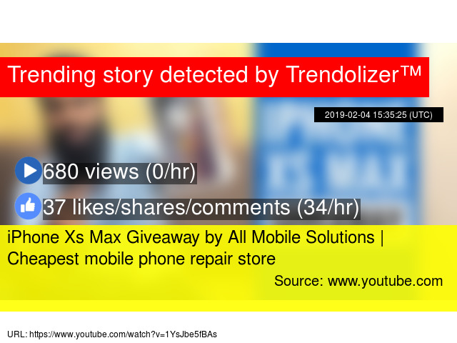 iPhone Xs Max Giveaway by All Mobile Solutions | Cheapest