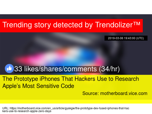 The Prototype iPhones That Hackers Use to Research Apple's