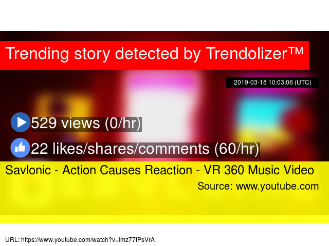 Savlonic - Action Causes Reaction - VR 360 Music Video
