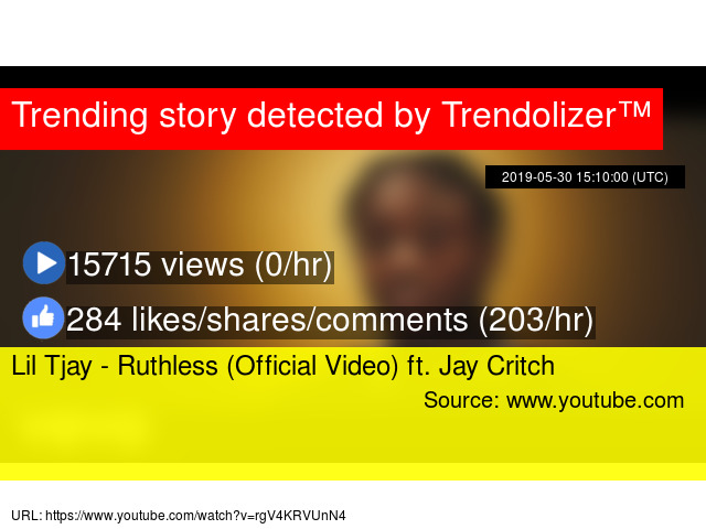 Lil Tjay - Ruthless (Official Video) ft  Jay Critch