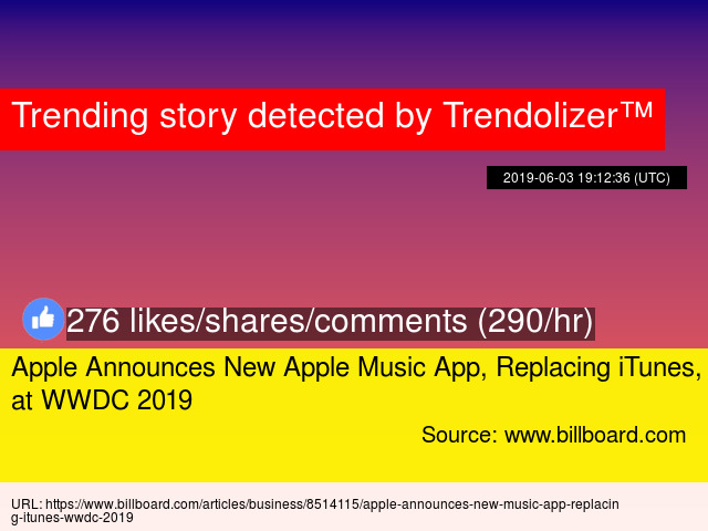 Apple Announces New Apple Music App, Replacing iTunes, at