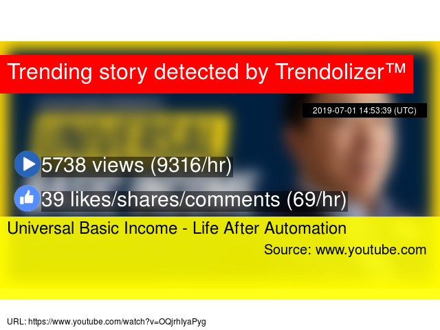 Universal Basic Income - Life After Automation