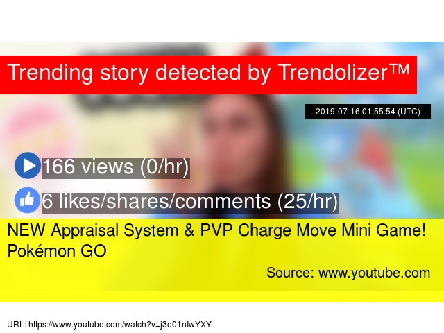 NEW Appraisal System & PVP Charge Move Mini Game! Pokémon GO