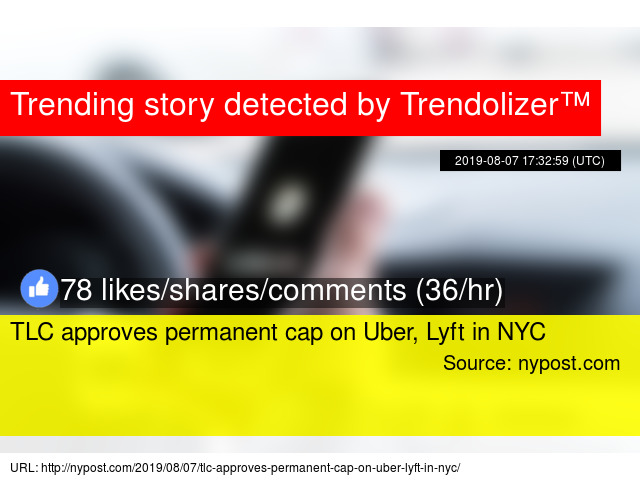 TLC approves permanent cap on Uber, Lyft in NYC