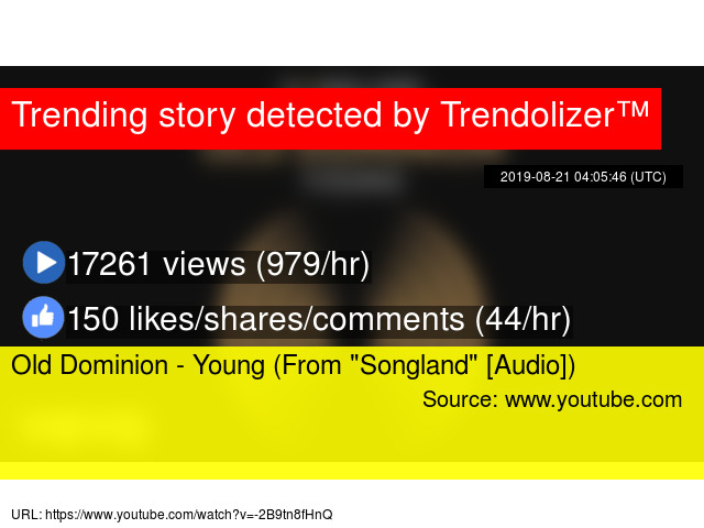 Old Dominion - Young (From