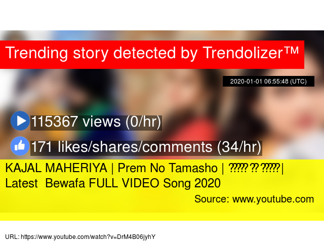 Bewafa video 2020