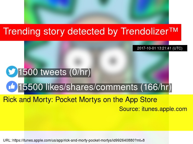 Rick and Morty: Pocket Mortys on the App Store