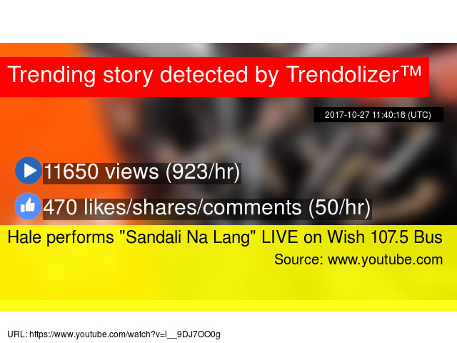 Sandali Lang Live Na Performs Hale 107 5 Wish Bus On hdCrsxtQ