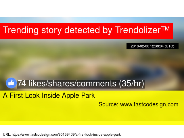 A First Look Inside Apple Park