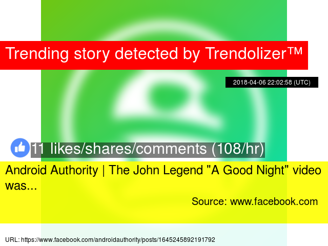 Android Authority | The John Legend ""